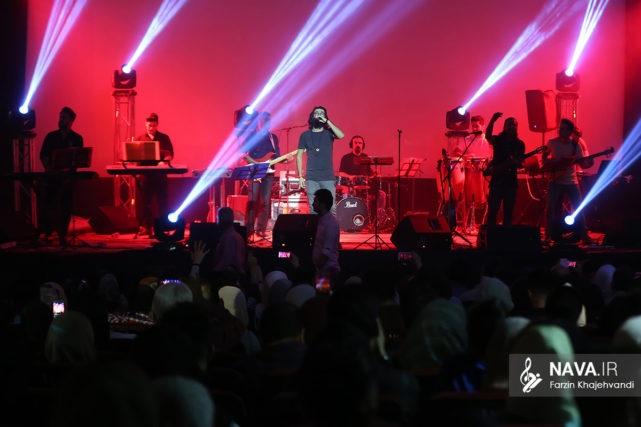 اجرای کنسرت هوروش بند